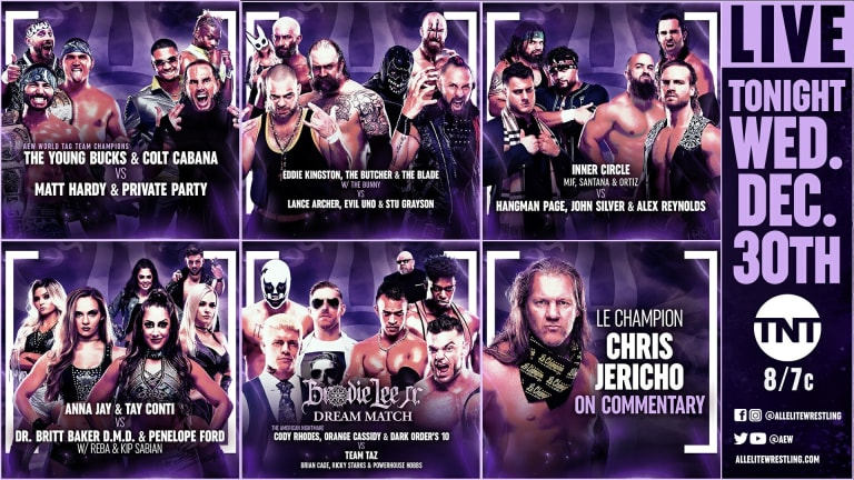 AEW Dynamite Report for 12/30/20