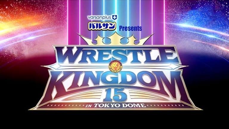 New Japan Pro Wrestling Wrestle Kingdom 15 Full Results