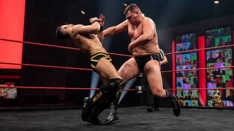 WWE NXT UK Results 1. 14. 21