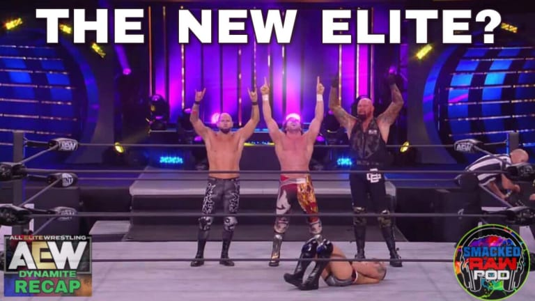 New Years Smash Night 2! AEW Dynamite Recap Podcast 1/13/21