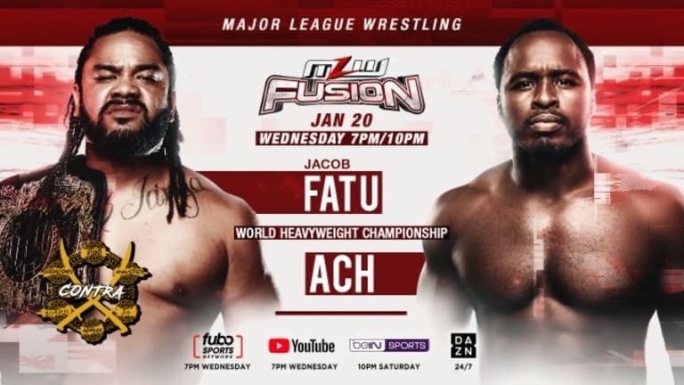 MLW FUSION Preview 1. 20. 21