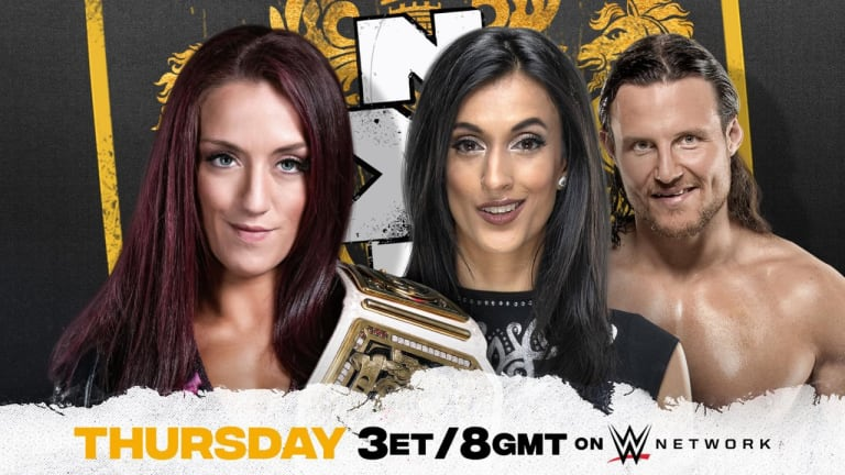 WWE NXT UK Preview 1. 21. 21
