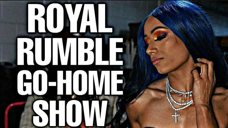Shock Return! Royal Rumble Go Home Show! SmackDown Recap Podcast 1/29/21