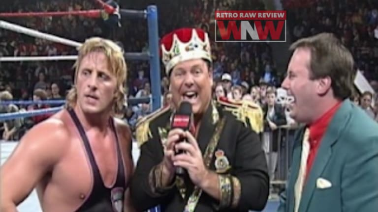 WNW Retro Review First Watch RAW 10.23.95