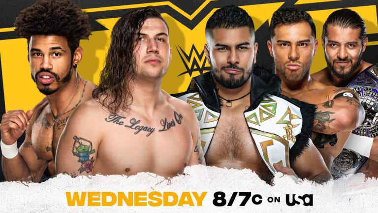 WWE NXT Preview 2.10.21
