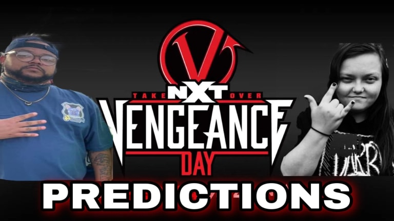 Smacked Raw NXT Takeover: Vengeance Day Predictions! 2/11/21
