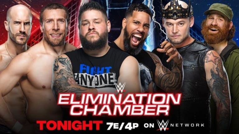 WWE Elimination Chamber 2021 LIVE coverage and commentary (02.21.21)