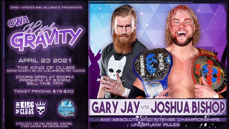 Gary Jay vs Joshua Bishop Set For OWA High Gravity