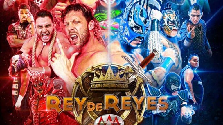 Omega To Defend Mega Championship At Lucha Libre's AAA Rey de Reyes.
