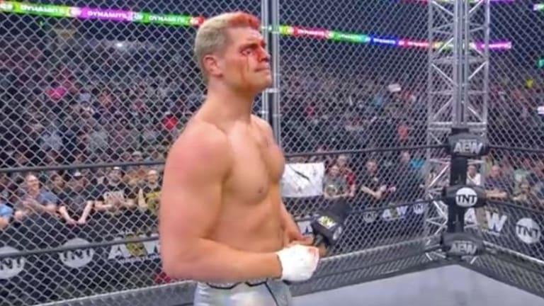 Cody Rhodes Cuts Emotional Promo After AEW Dynamite
