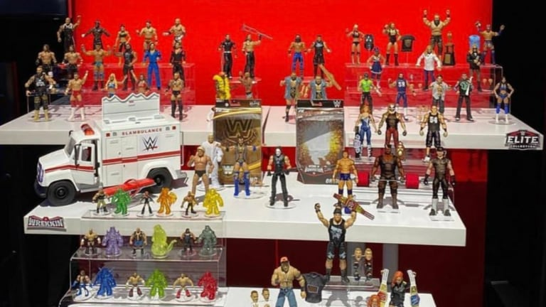 Mattel's WWE New York Toy Fair Figures Revealed