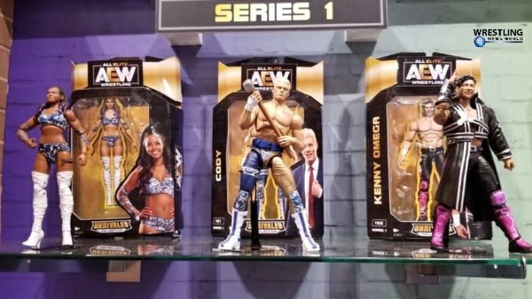 All Elite Wrestling Action Figure Update, Line-ups, and Release Dates