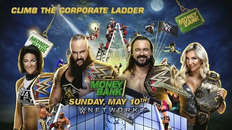 Climb the Corporate Ladder Matches Announced for WWE Money in the Bank PPV Event