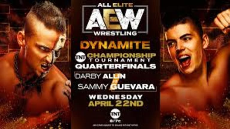 AEW Dynamite LIVE Report for April 22
