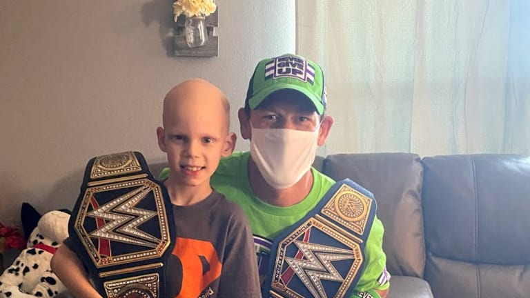 WATCH: John Cena Grants Another Make-A-Wish, Surprises 7-year-old Battling Life Threatening Illness in Florida