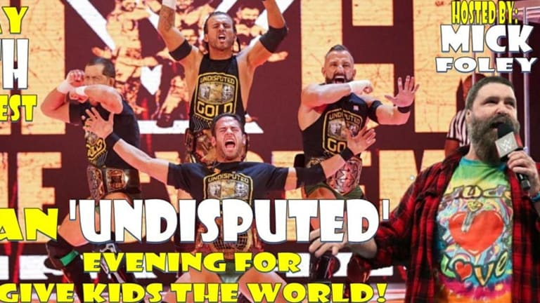 Wrestling News World Presents: An 'Undisputed' Evening For Give Kids The World with Mick Foley