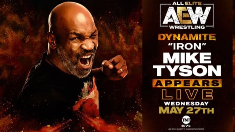 Mike Tyson Set to Appear on AEW Dynamite, This Week