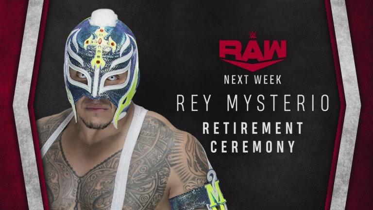 The Host of Rey Mysterio's Retirement Ceremony Revealed