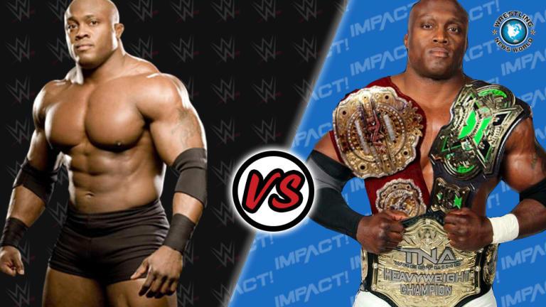 WWE Bobby Lashley vs IMPACT Bobby Lashley