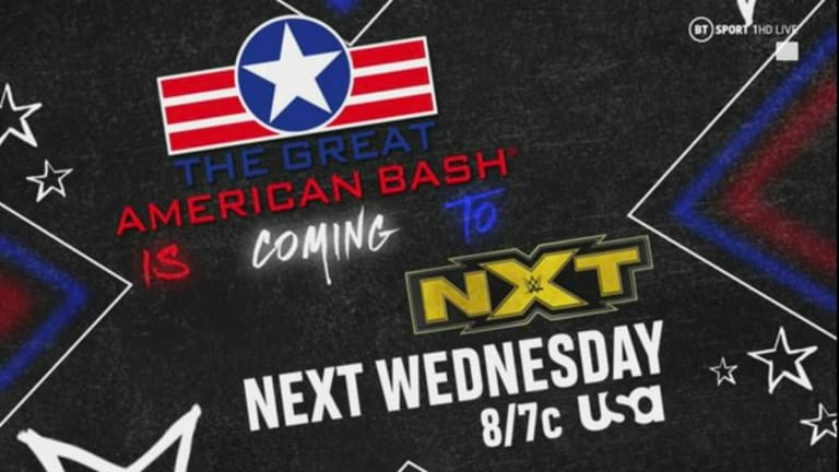 Next Week's WWE NXT Will Be Called The Great American Bash
