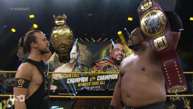 Winner-Take-All Championship Match Set For July 8th's WWE NXT