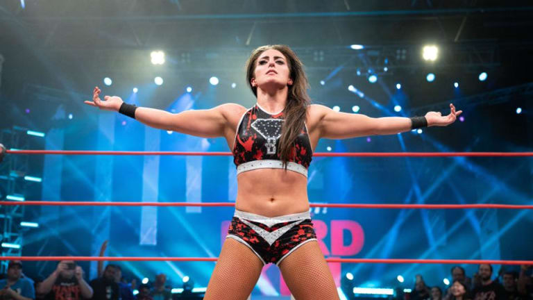 *BREAKING* IMPACT Wrestling Strips Tessa Blanchard Of IMPACT World Championship And Releases Her From Company