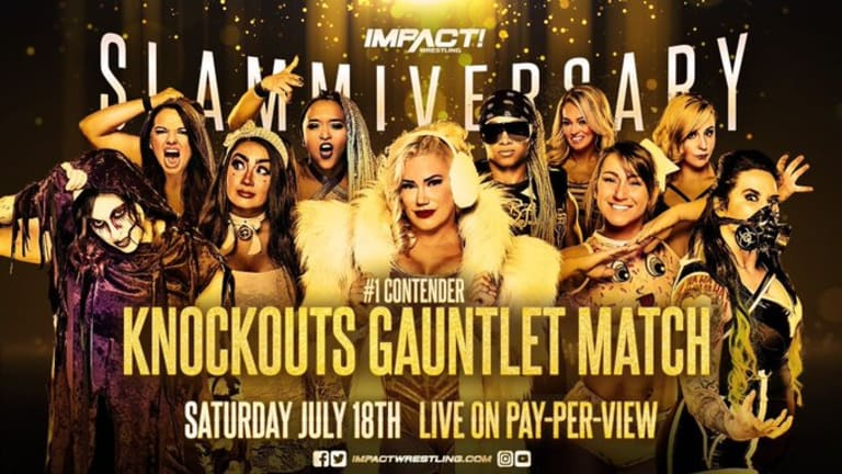 IMPACT Knockouts # 1 Contender Gauntlet Match Set For Slammiversary