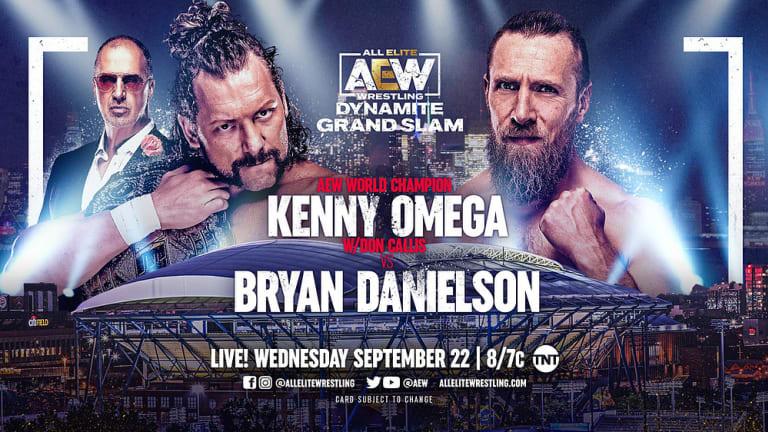 AEW Dynamite Grand Slam Preview