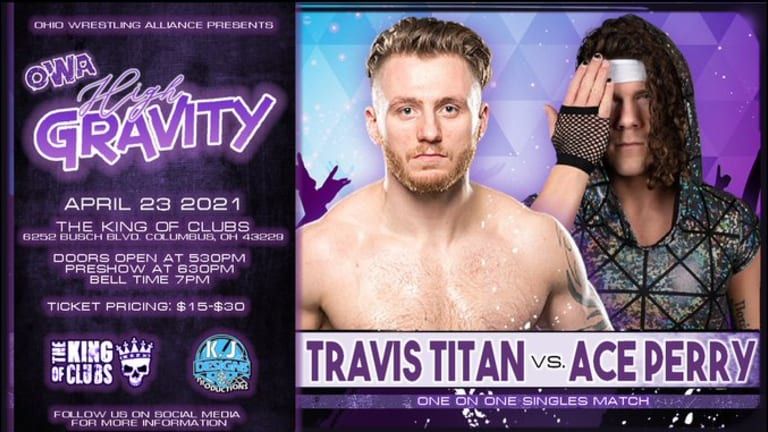 Travis Titan vs Ace Perry Announced for OWA High Gravity