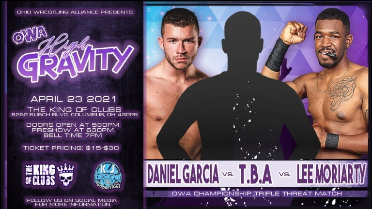 Lee Moriarty and Daniel Garcia to challenge for OWA title at High Gravity