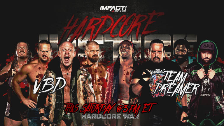 Impact Wrestling Hardcore Justice Live Coverage and Results 4.10.21