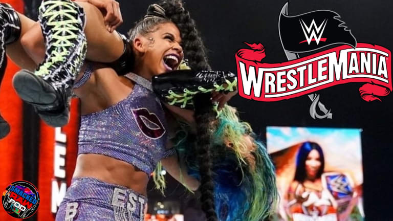 WWE Avoids Disaster!!! New Champion Crowned!!! WrestleMania Night 1 Recap Podcast 2021
