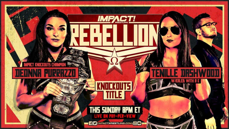 Impact Wrestling Rebellion Preview 4.25.21