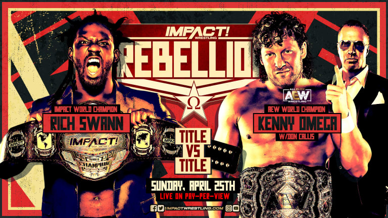 Impact Wrestling Rebellion 2021 Live Coverage and Results 4.25.21