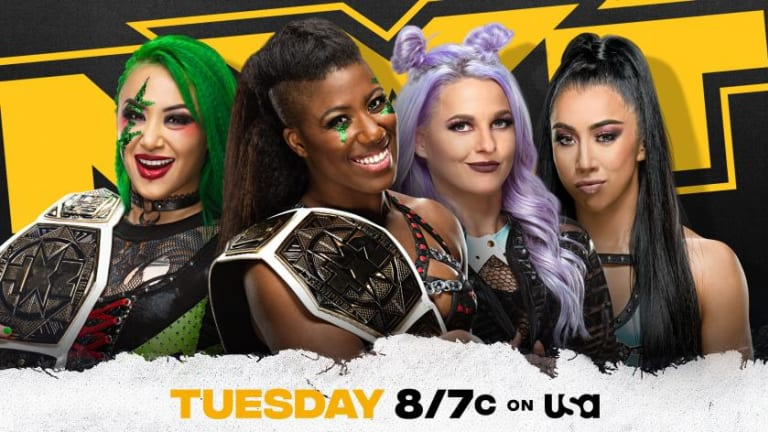 WWE NXT Preview 5.4.21