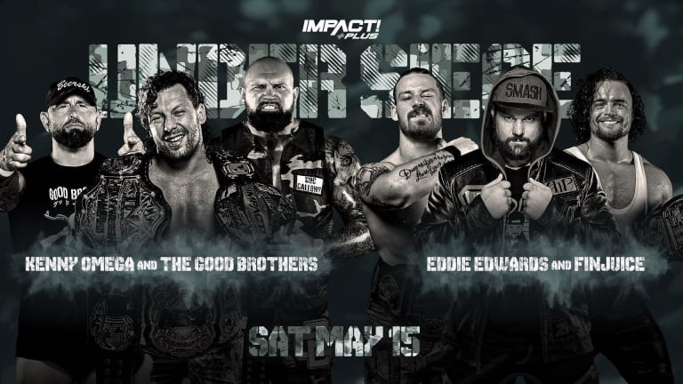 Impact Wrestling Under Siege Live Coverage and Results 5.15.21