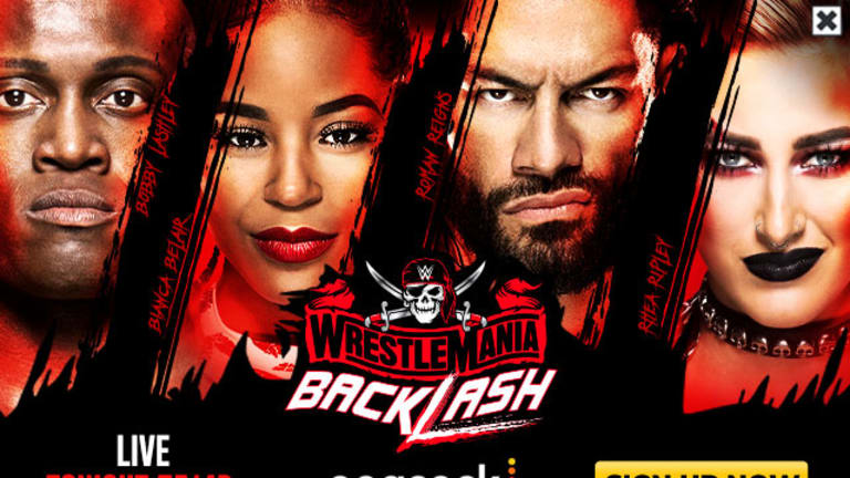 WWE WrestleMania Backlash LIVE coverage and commentary (05.16.21)