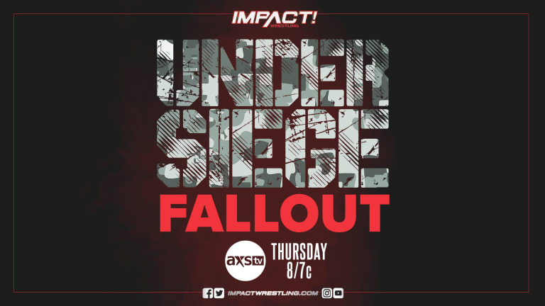 Impact Wrestling Preview: Under Siege Fallout 5.20.21