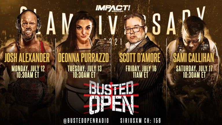 IMPACT Wrestling Stars on Busted Open Next Week