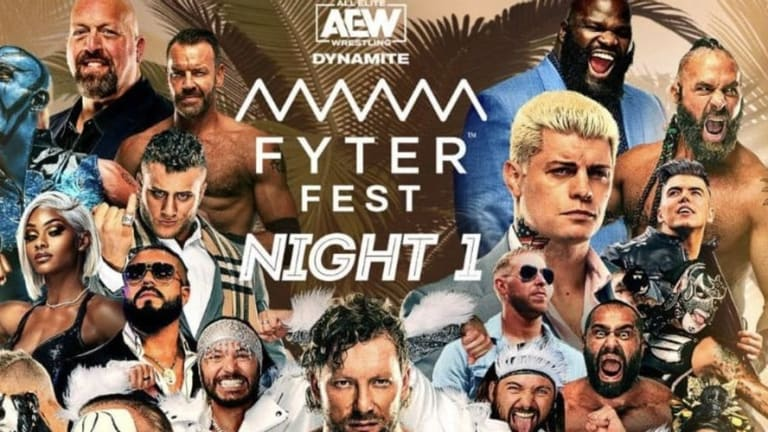 AEW Fyter Fest Night 1 Recap & Analysis