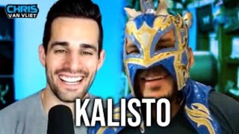 Former WWE Superstar Kalisto Sits Down with Chris Van Vliet