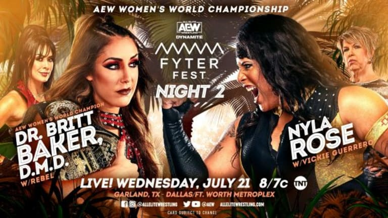AEW Fyter Fest Night Two Preview