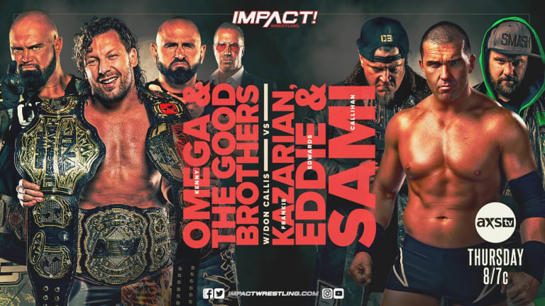 Impact Wrestling Results and Recap 8.5.21