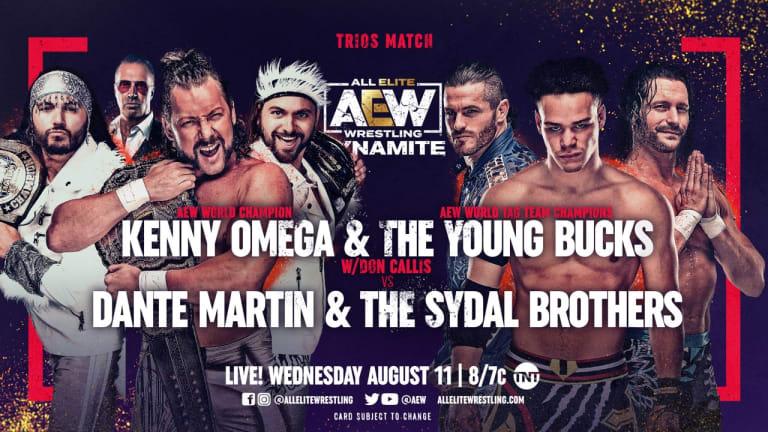 AEW Dynamite Preview 8/11/21