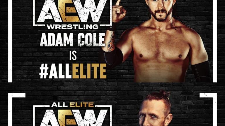 Adam Cole and Bryan Danielson are #ALLELITE