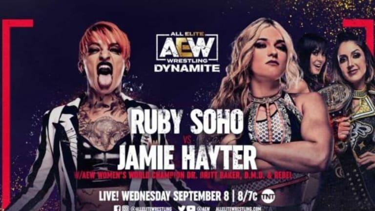 AEW Dynamite Preview 9/8/2021