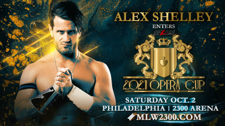 Alex Shelley Makes MLW Debut In 2021 Opera Cup
