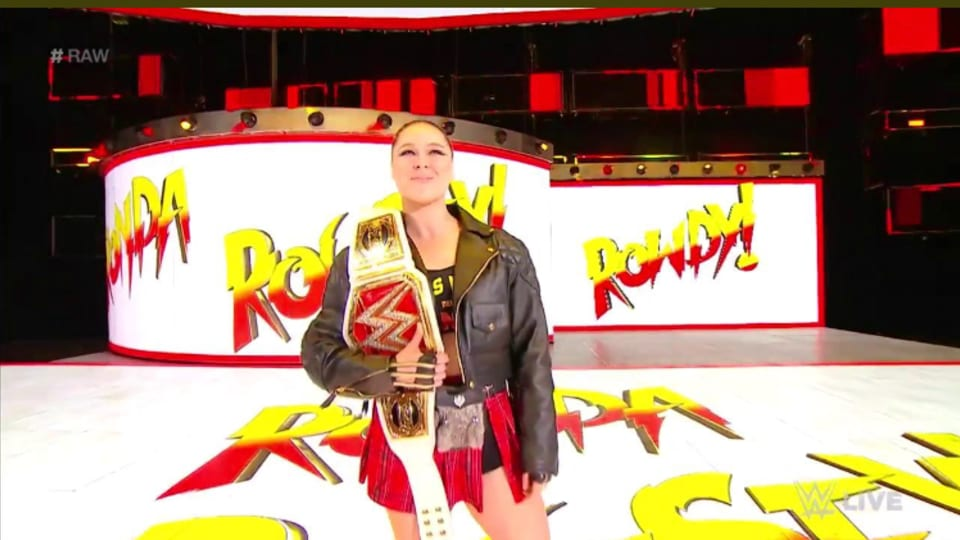 Backstage News From Last Night's Raw And Ronda Rousey, Crown Jewel Update, NXT Call-Ups