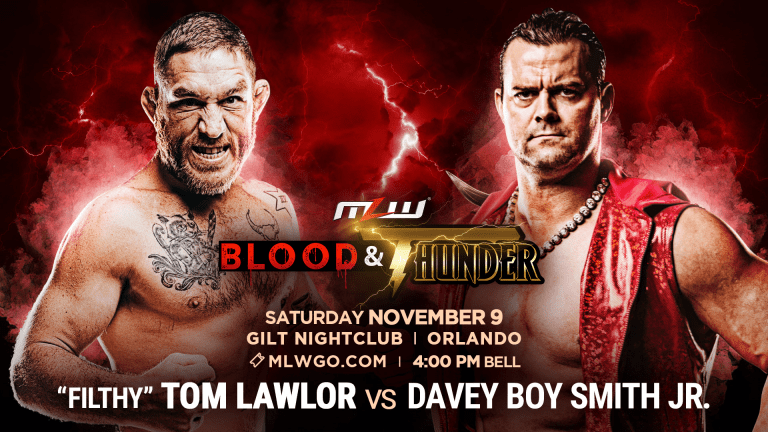 Major Matchup Set for MLW Blood & Thunder