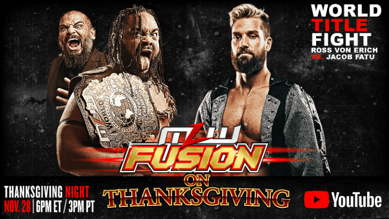 MLW Fusion on Thanksgiving Preview